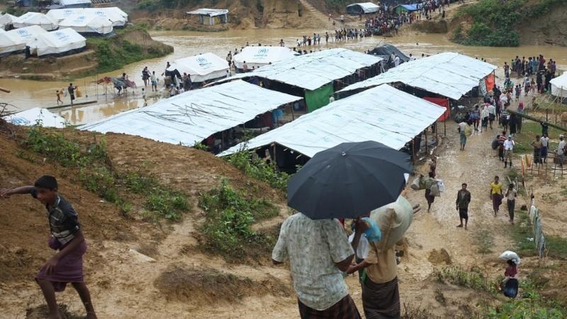 টেকনাফে রোহিঙ্গা ক্যাম্পে সংঘর্ষ: আহত ১০