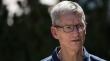 Apple boss Tim Cook joins Donald Trump condemnation