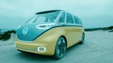 Volkswagen plans an electric hippie bus