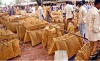 নওগাঁর হাট-বাজারে চাঁই বিক্রির ধুম