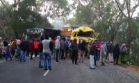 গোপালগঞ্জে বাস-ট্রাক সংঘর্ষে আহত ৩৫