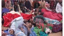 নরসিংদীতে পাটকল শ্রমিকদের আমরণ অনশন অব্যাহত